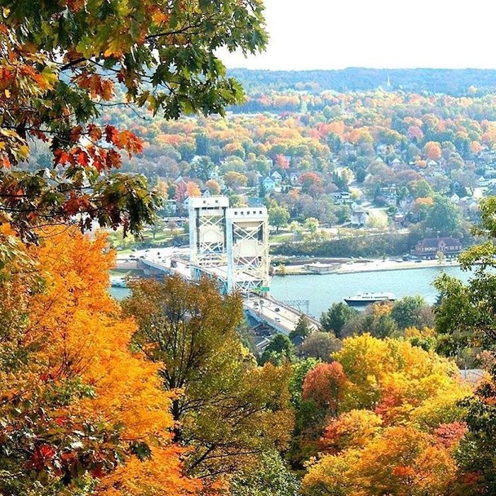 Houghton in the Fall