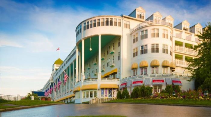 The Grand Hotel in Mackinac Island