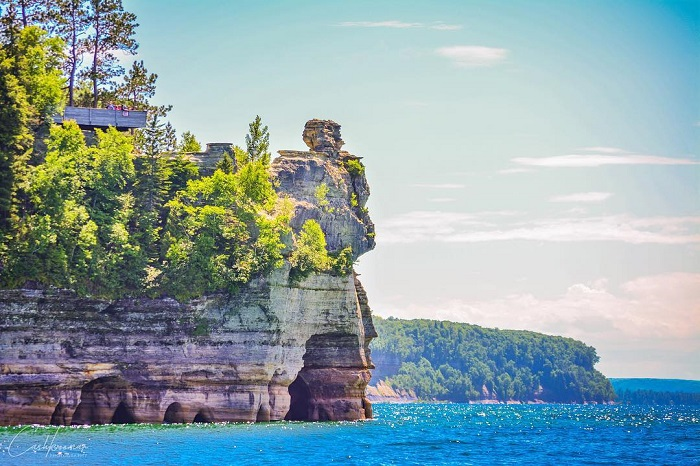 Miners Castle and Pictured Rocks