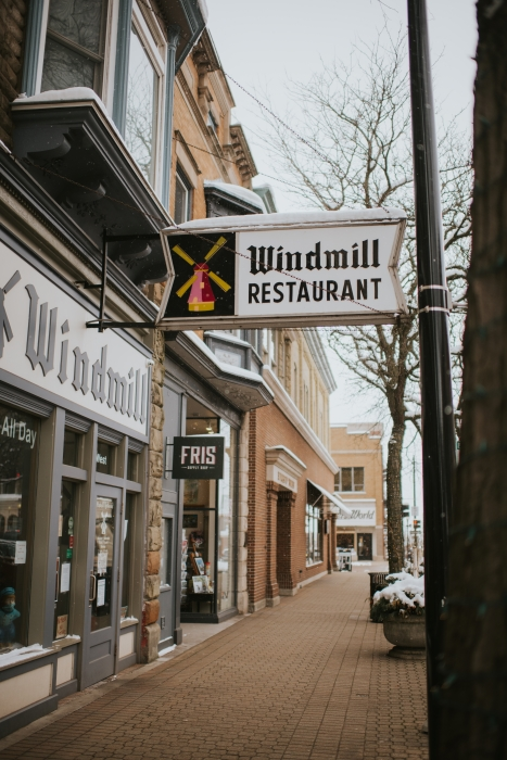 Exterior of the Windmill Restaurant